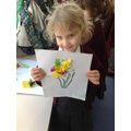Making daffodils