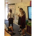 Presenting our Project Learning.