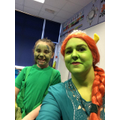 Dinosaur and Princess Fiona!