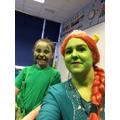 Dinosaur and Princess Fiona!
