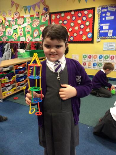 Making space shuttles using construction materials