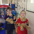 We love Arturo and Josefina, our Spanish teddies.