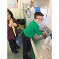 year 1 Global hand washing day