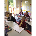 Year 4 discussing the importance of educating others