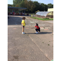 Year 3 enjoy PE