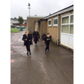 Year 4 mini-marathon in aid of mind