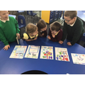 Year 2 Healthy schools judged a poster competition on the importance of drinking wate
