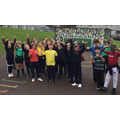 Year 6 mini-marathon in aid of mind