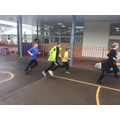 Year 5 mini-marathon in aid of mind