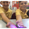 Year 5 found out how easily germs are spread