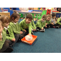We have been experimenting with ice.