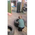 Exploring weight through play