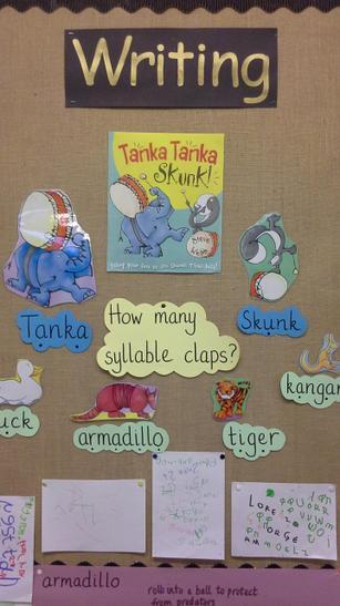 Syllable clapping with Tanka Tanka Skunk