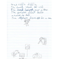 Levi created his own version of a traditional nursery rhyme