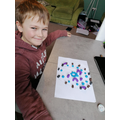Joseph has thought really hard about the shapes created by the stones