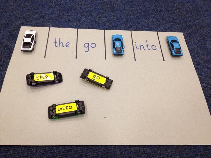 tricky word car park