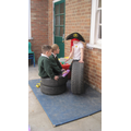 Wonderful role play! Position and direction here.