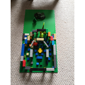 Jacob also used Lego to make his brilliant model
