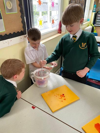 We had to filter some of the ingredients to get the solids out!