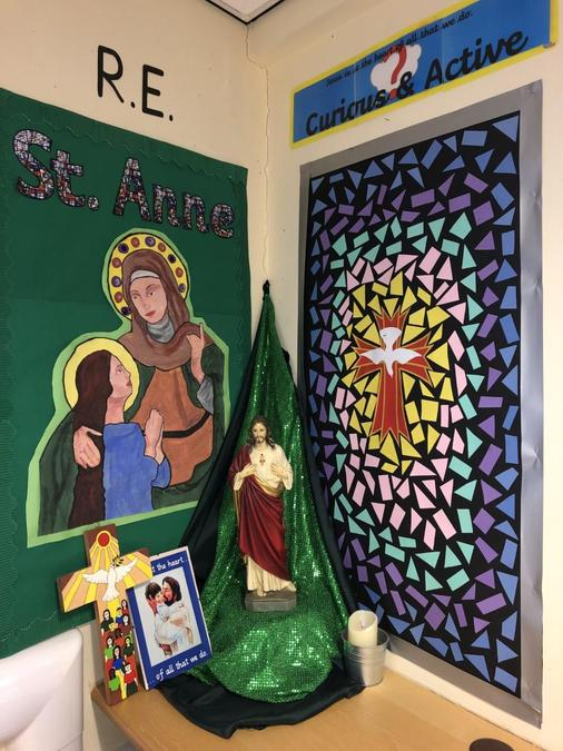 Our Prayer Area