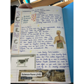 Year 6- Writing about Science Week.