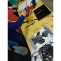 Painting polar animals in reception