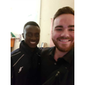 To get a picture with someone with a bright smile