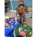 Small world play - farmyard fun!