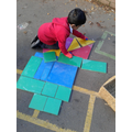 Shape Pictures on the Playground