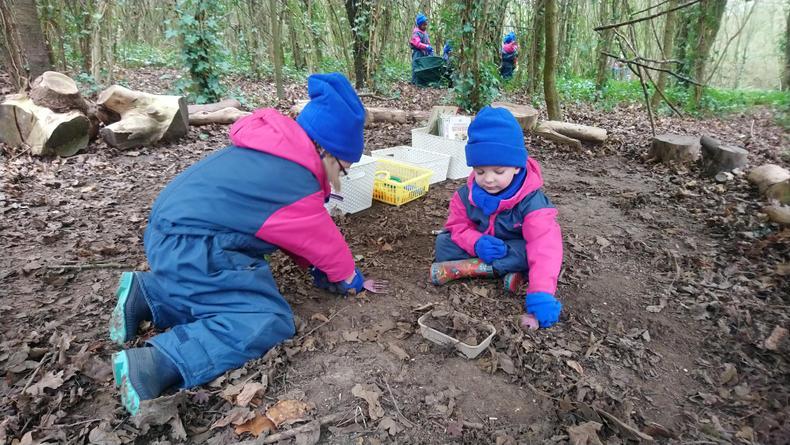 More digging!