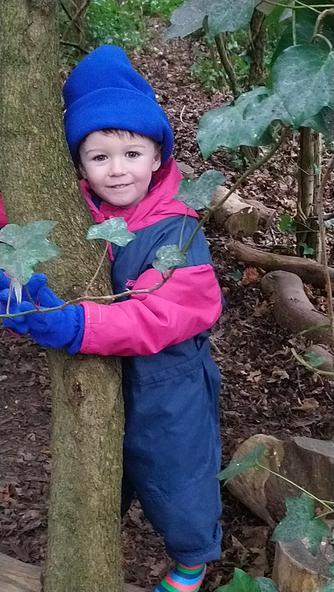 Tree hugging :)