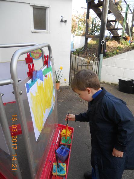Pre-school outdoor activity