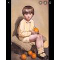 Boy with Oranges