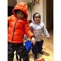 Ryu & Nia all kitted out!