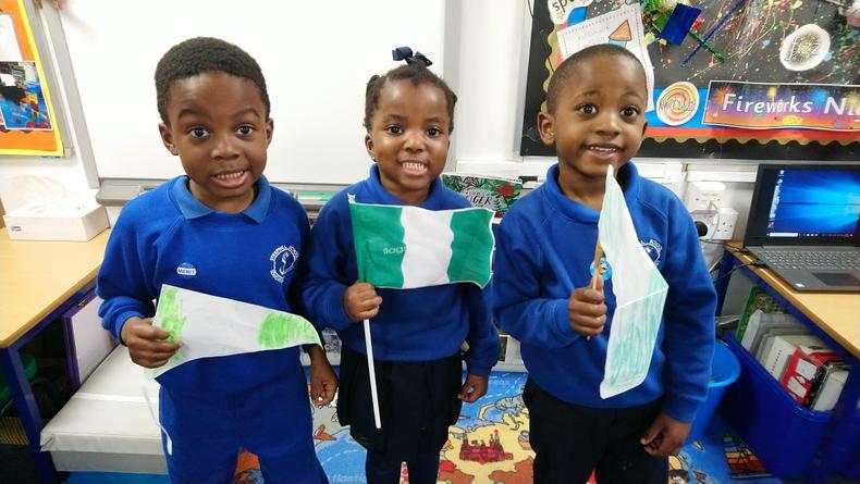 Tiyi, Temikemi & Hammad from Nigeria