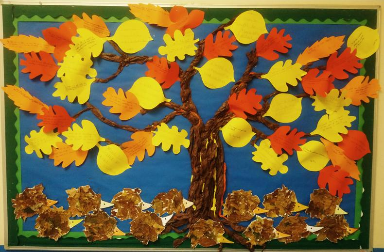 Target Tree (in the school hall)