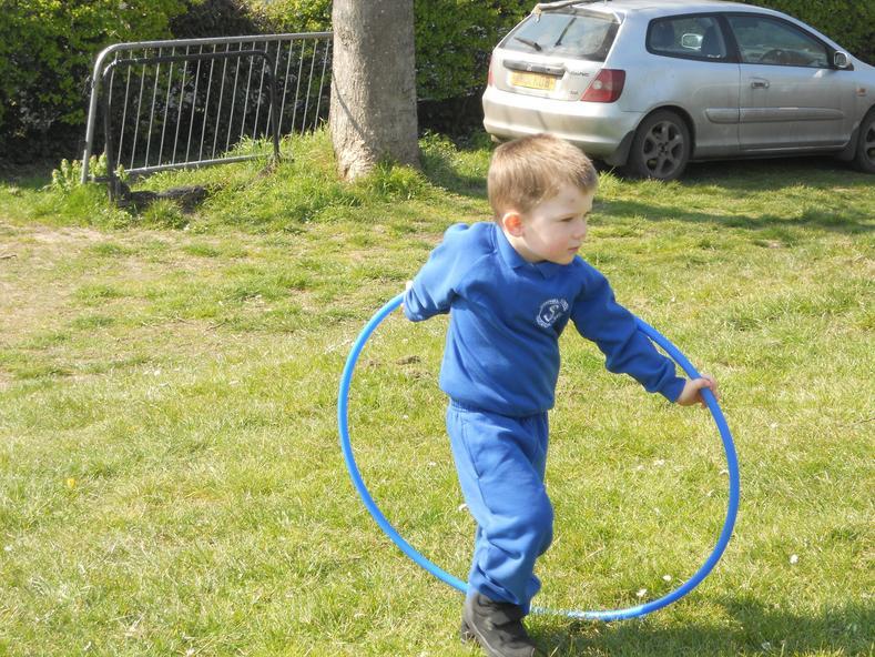 Outdoor games....hoops