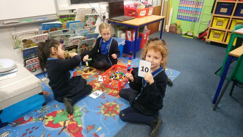 & creating numbers to 20 :)