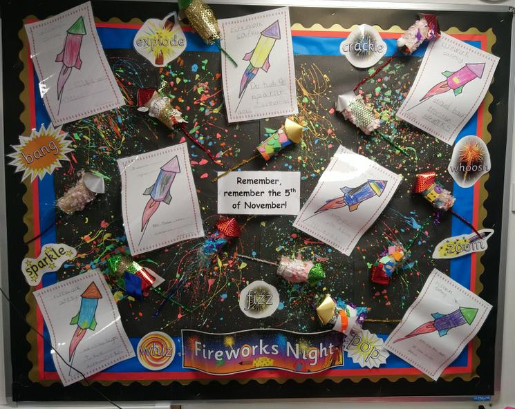 Splatter painting, 3D rockets & safety posters!