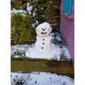Avisha's Snowman :)