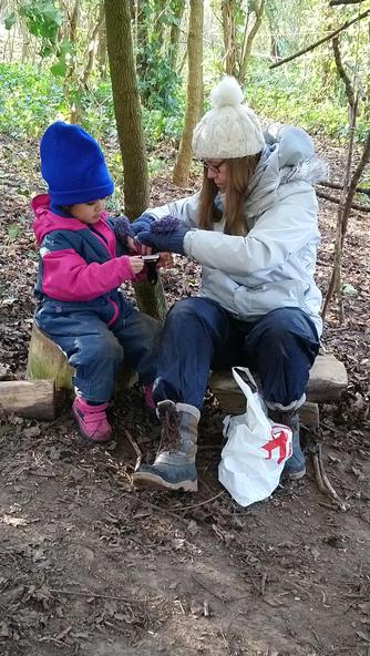 Whittling with Mrs Latter