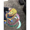 Jack's colourful African snake