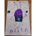 Inga wrote alien!