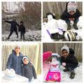 Mathew and Sarah's snowman