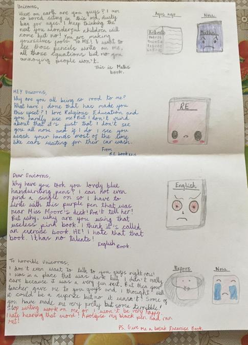 Jincy's Crayon letters