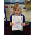 I love your colourful alien Matilda