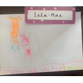 Isla Mae's favourite part of our story
