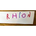Well done Rhion