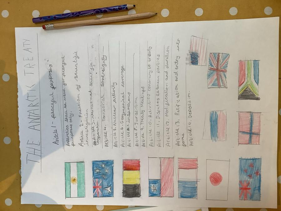 Antarctica Treaty!