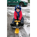 Great way to get around in the snow!